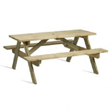Vanna Hereford 6 Seater Picnic Table